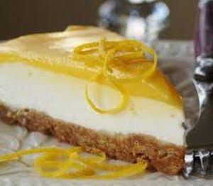 Cheesecake de limón Por: Diego Gonzalez  Riquisimooo!