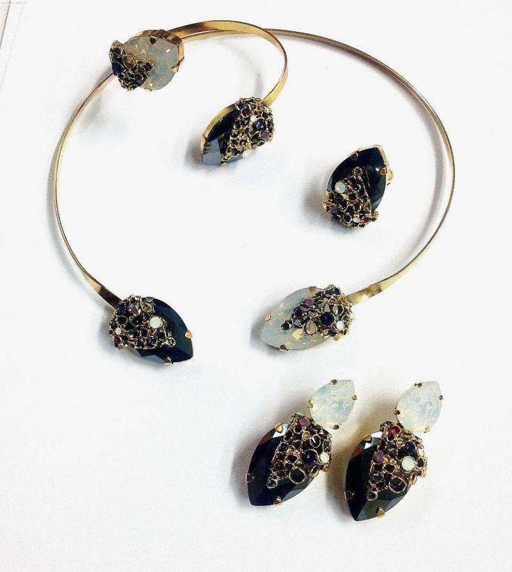 Tria Alfa jewelry sets with Swarovski elements 3