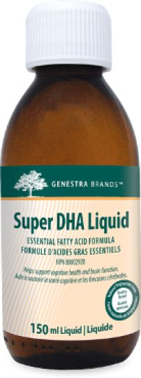 Super DHA Liquid by Genestra is naturally flavoured with sweet orange oil with no fishy aftertaste.