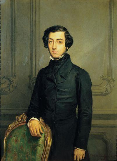 Charles Alexis Henri Clérel de Tocqueville par Théodore Chassériau