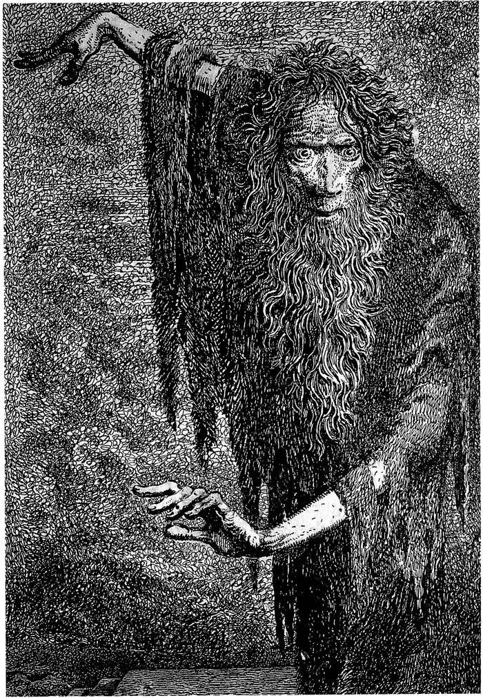 The illustrations of Mervyn Peake
