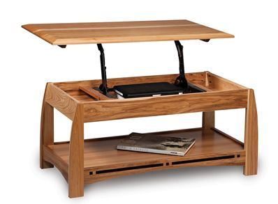 coffee tables with lifting top hinge. amish boulder creek lift top coffee  table comes in