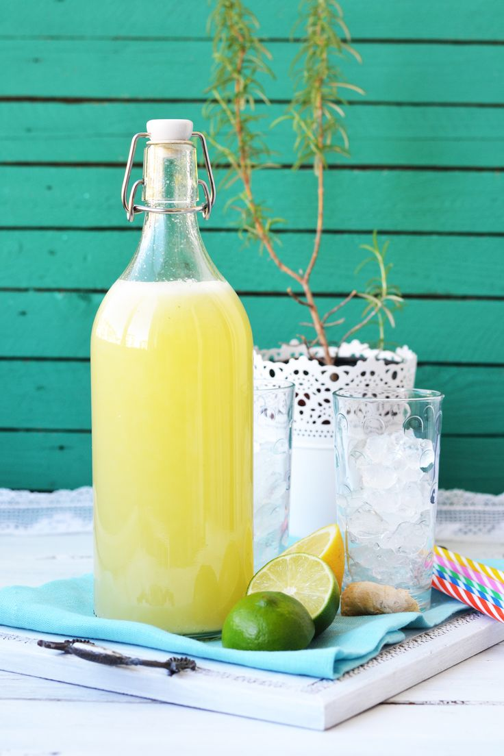 Rosemary and ginger lemonade