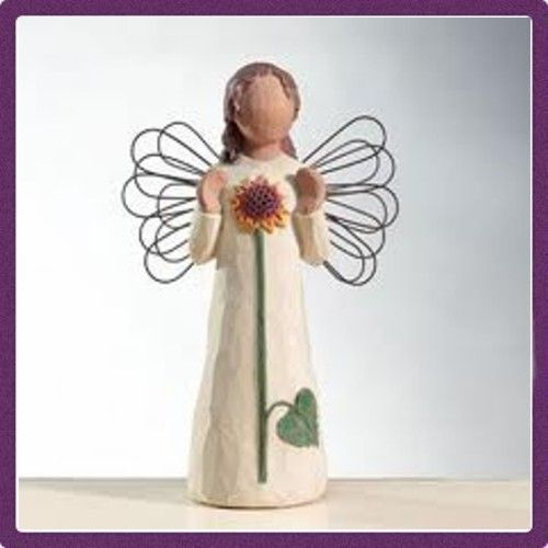 """Willow Tree Figurine-Angel of Summer """"Reflecting the Happiness of Sunshine"""