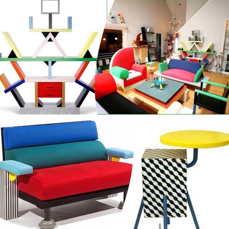Memphis design Um estilo totalmente alternativo do design que surgiu na década de 80 e está voltando agora!