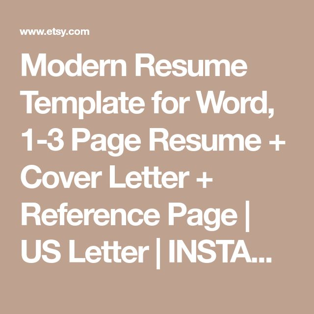 The 25+ best Resume templates for word ideas on Pinterest - reference page resume template