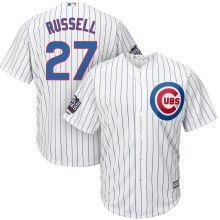 Dick's Sporting Goods - Store: Fan Shop: MLB: Shop by Team: Chicago Cubs: World Series Champs: Majestic Men's Full Roster Replica 2016 World Series Champions Chicago Cubs Cool Base Home White Jersey
