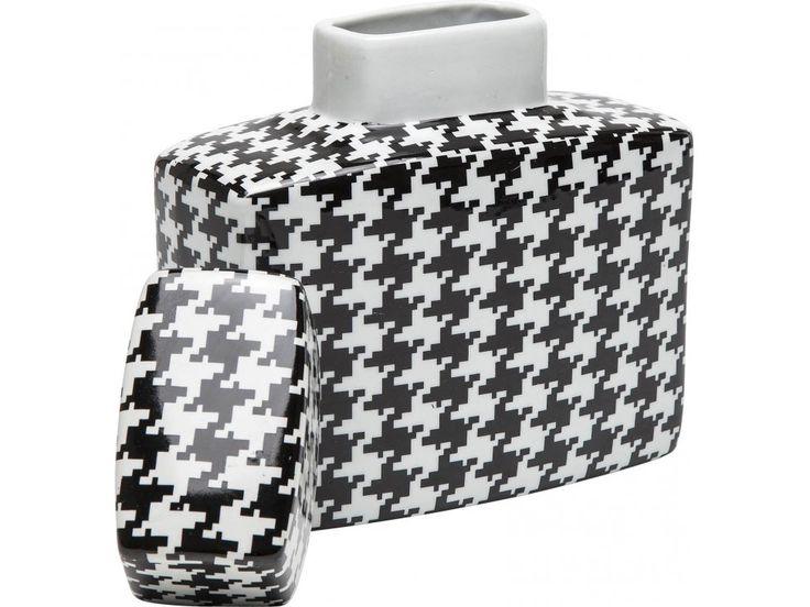 Słój Dekoracyjny Houndstooth — Słoiki — KARE® Design