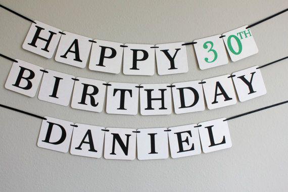 custom birthday banner  birthday decorations  by breelyseandco, $28.00