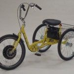 Commander Adult Pedal Electric Tricycle