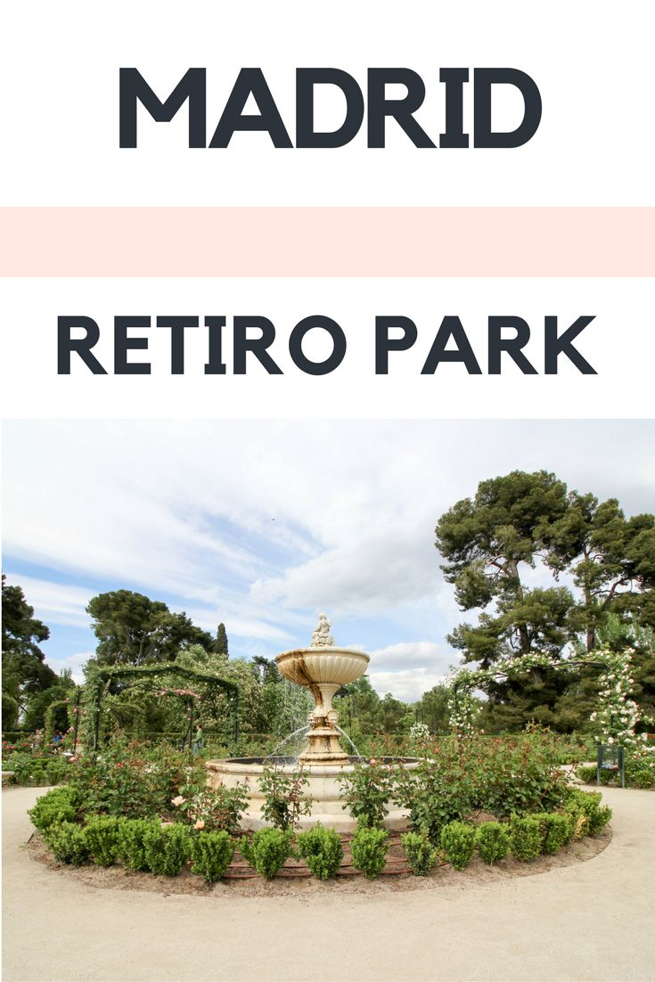 DIY Walking Tour Retiro Park Madrid | Here is an itinerary with everything you need, incl map for a free, DIY walking tour of the El Retiro, Madrid in Spain.