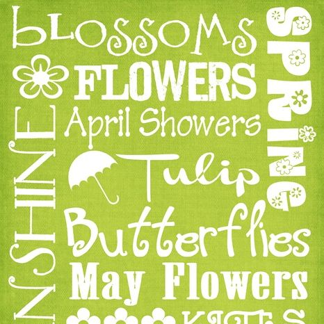 Spring subway art printable; click picture to get to original download link via http://printabledecor.net