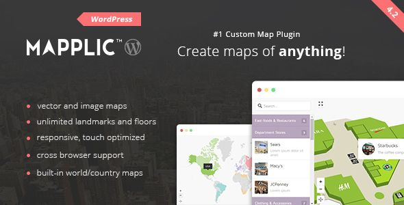 Mapplic - Custom Interactive Map WordPress Plugin ...