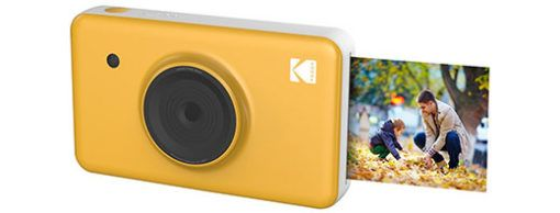 A new instant digital camera 'MiniShot' from Kodak. Equipped with a 10MP CCD sensor, this hybrid point-and-shoot camera captures still images that can be printed directly from the camera.