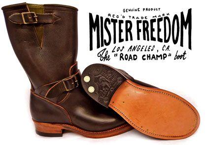 Mister Freedom Footwear