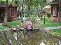 Yoga & Pilgrimage Packages Join us for a one-week Yoga & Ayurveda retreat at the beautiful Kairali's Ayurvedic Healing Village in Palakkad!  http://ayurvedichealingvillage.com/yoga-and-pilgrimage-packages.aspx
