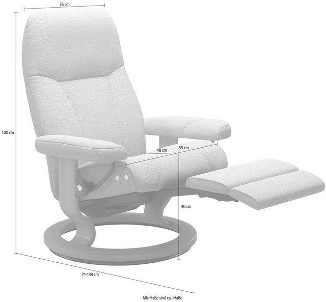 Relaxsessel »Consul« mit Classic Base und LegComfort™, Größe M, Gestell Sc…  #Einrichtungsstil