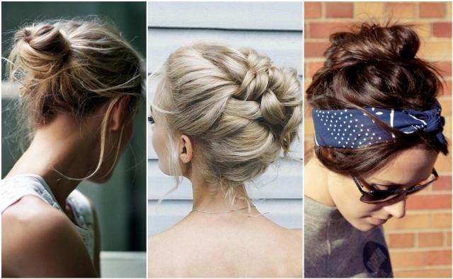 Fryzury z kokiem - młodzieżowa fryzura dla Ciebie #fryzura #koki #kok #włosy
