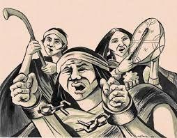 mujeres mapuches pintura - Buscar con Google