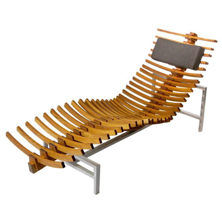 1000 images about antique teak wood furniture on for Chaises longues aluminium
