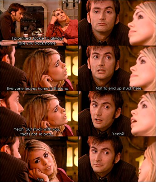 Rose and the Doctor <3Doctors And Rose, The Doctors, Ten And Rose, Doctorwho, Rose Tyler, Doctors Who, 10Th Doctors, Dr. Who, David Tennant