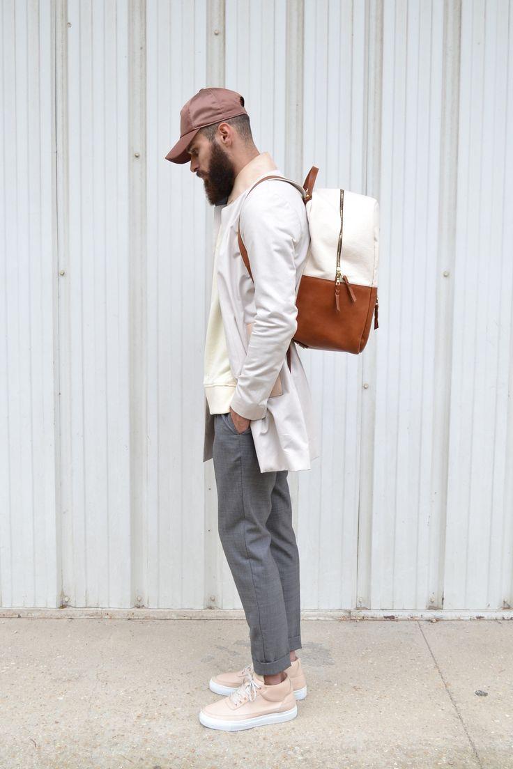 "alkarus: "" Acne studios cap Aimé Leon dore Backpack Filling Pieces x Ronnie Fieg sneakers """