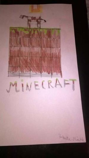 Régóta kedvencem a Minecraft és a barátaimmal összefogva csapatban játszunk.