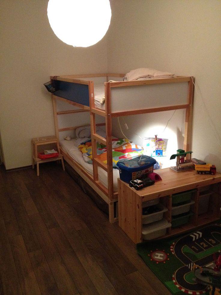 17 best ideas about double bunk on pinterest kids double bed double bed for kids and awesome beds. Black Bedroom Furniture Sets. Home Design Ideas