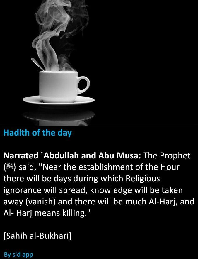 Signs of the end of times  #Islam | HADITH | Islam hadith, Prophet