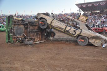 Demolition Derby | Utah County Fair
