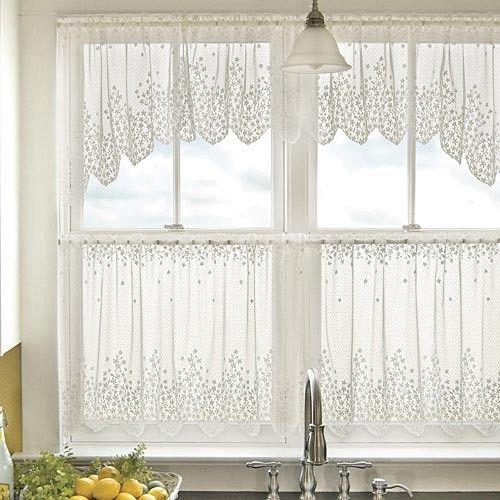 Sturbridge Tier Window Treatments: 55 Best Images About Lace Curtains Ready Made, Valances