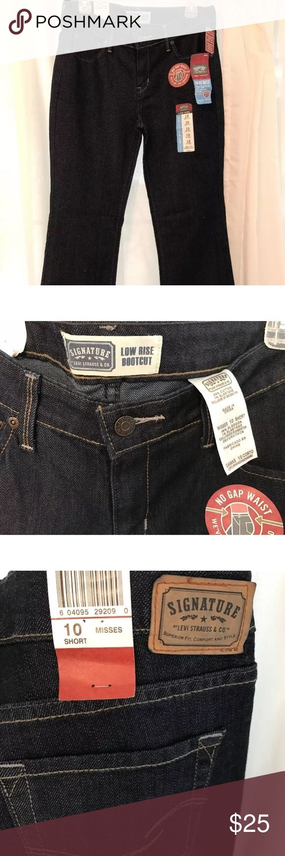 Levi Strauss Women's Low Rise Bootcut Jeans Levi Strauss Women's Low Rise Bootcut Jeans. Misses. Size 10/short. New with tags! Levi's Jeans Boot Cut