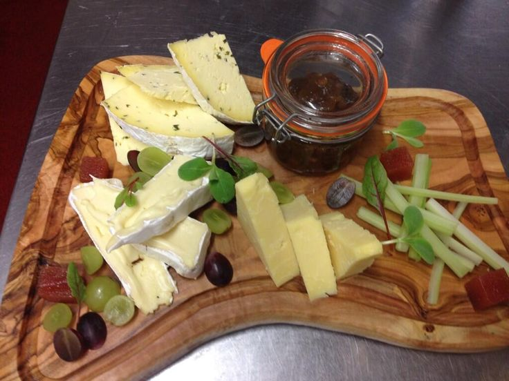 Cheeseboard from @Moorland Garden Hotel featuring cheese by @SharphamWines and @Quickes_Shop #devonfood
