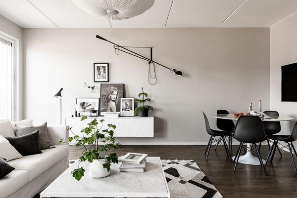 Unik och trendig 4:a med dubbla balkonger ‹ Dansk inredning och design