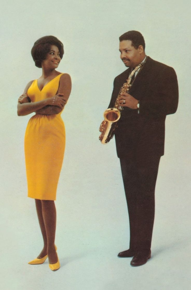 "Nancy Wilson and Julian ""Cannonball"" Adderley, 1961                                                                                                                                                      More"