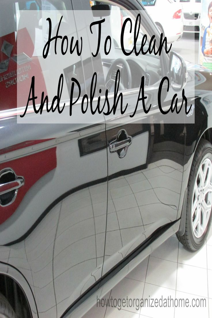 Ever wondered how to clean and polish a car properly?