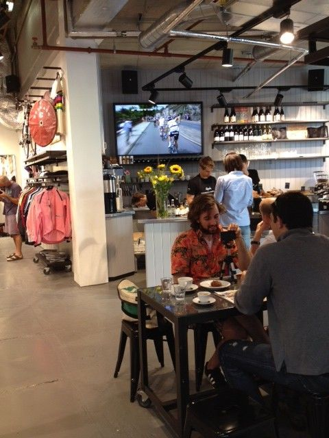 Rapha café...London