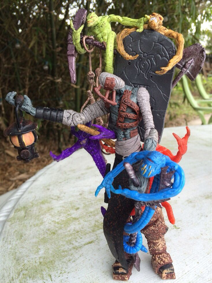 What the?! Weird! Grave Digger from Spawn 1997
