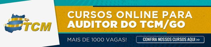Cursos para Concurso do Tribunal de Contas dos Municípios do Estado de Goiás (TCM GO).   Concurso realizado para o preenchimento de 200 vagas (imediatas + cadastro de reserva) para o cargo de Auditor de Controle Externo nas áreas Contábil, Jurídica, Engenharia, Informática e Controle Externo   Remuneração: R$ 6.243,78   Inscrições: entre os dias 24 de novembro e 22 de dezembro de 2014   Provas: 1º de fevereiro de 2015   Banca: FCC Informações…