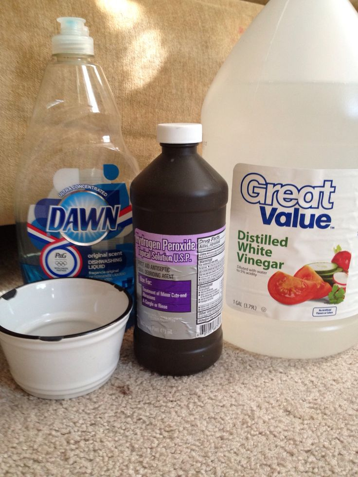 How to Make DIY Carpet Spot Cleaner... I just used this on a spot where my puppy had an accident and omg it's a freakin miracle.