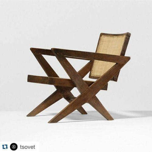 #tsovet @tsovet with @repostapp. ・・・ Mid-century modern design by #PierreJeanneret (Circa 1955). #tsovet #chroniclemagazine (at London, United Kingdom)