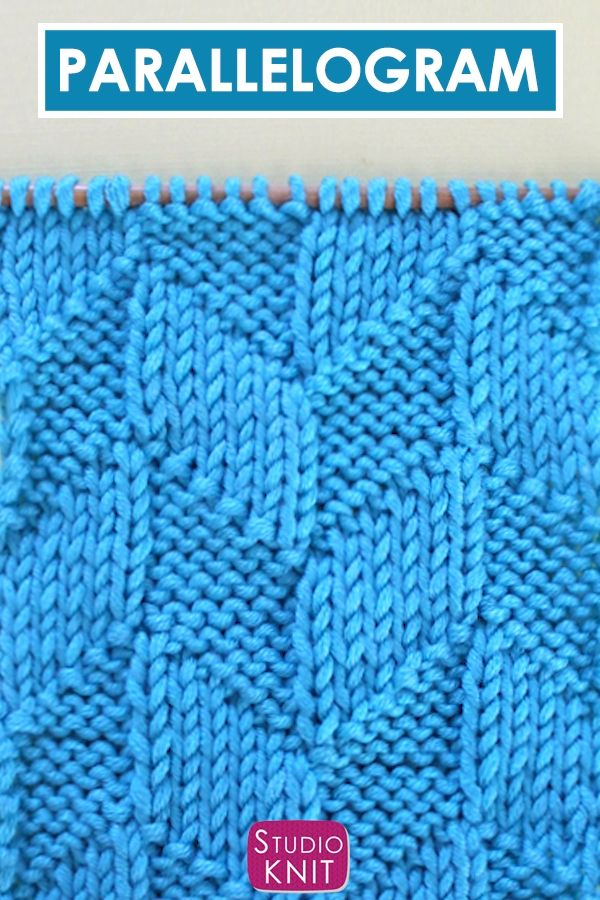 Loom Knit Sea Foam Stitch With Video And Chart Just
