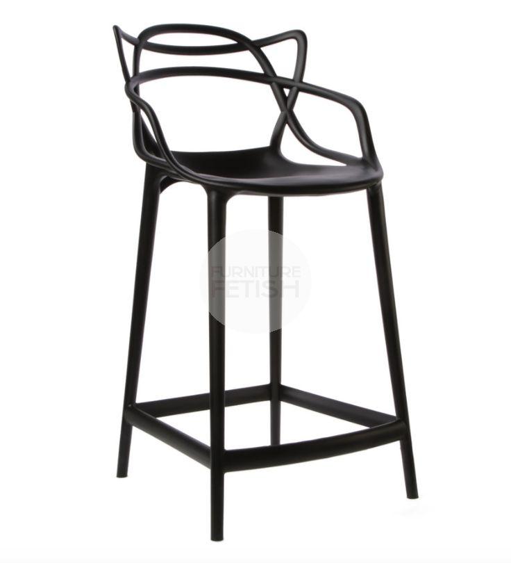 PREMIUM Replica Philippe Starck Masters Stool Black - 65cm angle $120ish