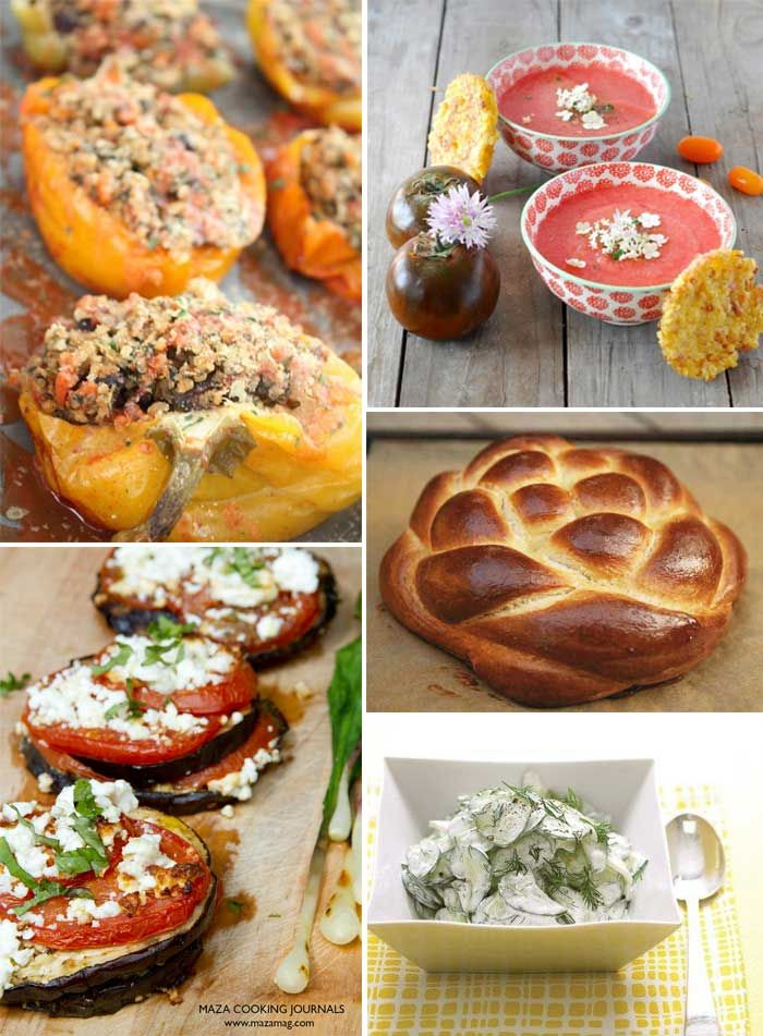 best food for rosh hashanah