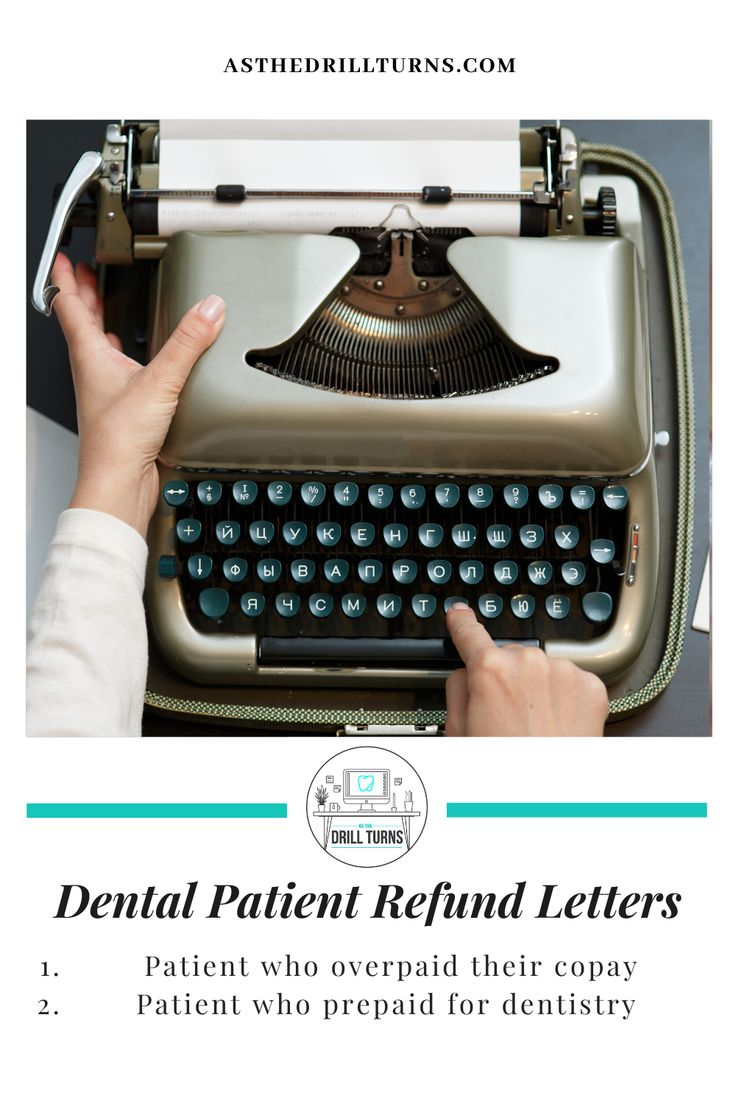 Dental Patient Refund Letters Download In 2020