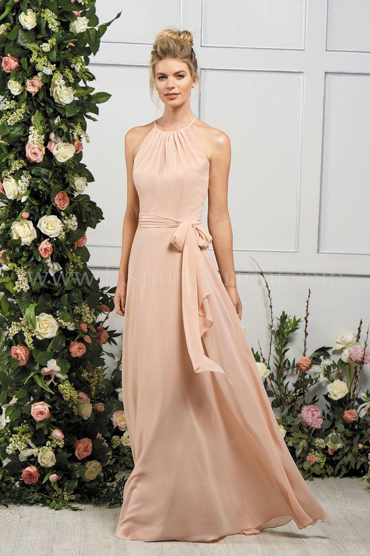 Halter style wedding dresses   best B by Jasmine Bridal images on Pinterest