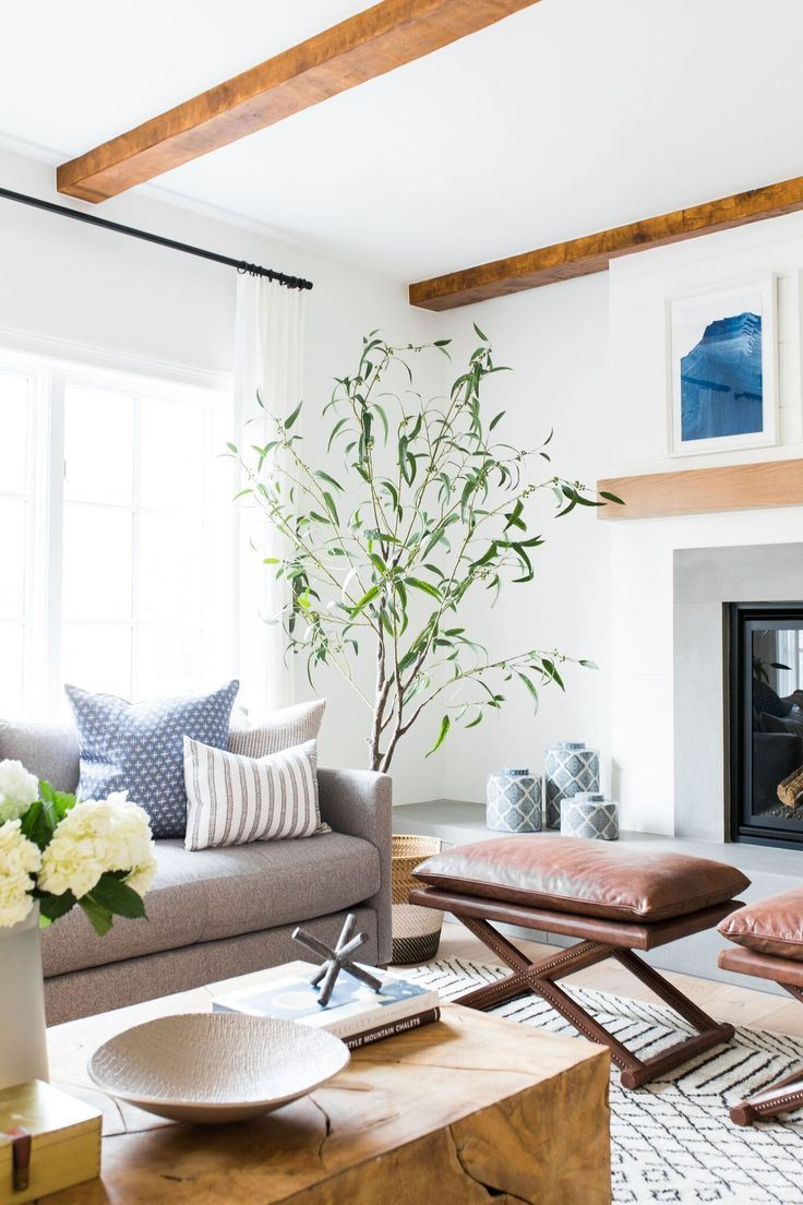 riverbottoms remodel living room reveal modern refined rh pinterest com