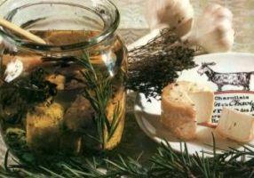 Crottins de Chavignol à l'huile d'olive - Cuisine française #fromage de chèvre
