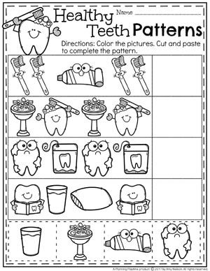 Nifty image pertaining to dental health printable activities