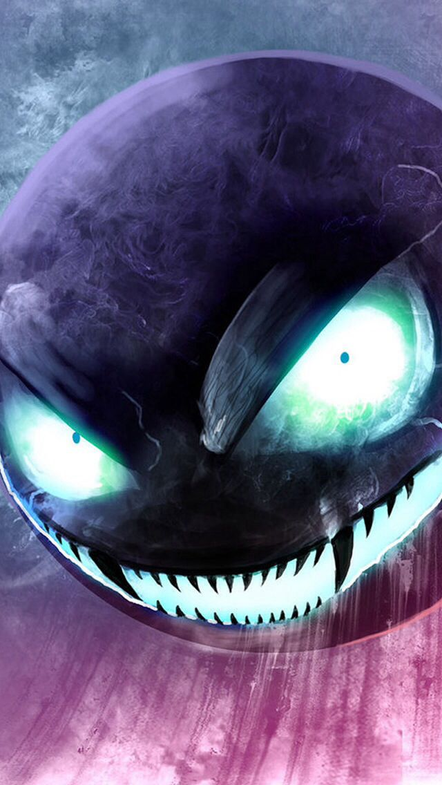 Gastly | Would be absolutely terrifying to see this in real life.